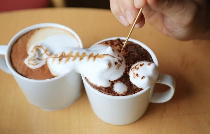 le-machine-a-cappuccino-belle-idée-coloré-recette-frappé-peinture-abstraite