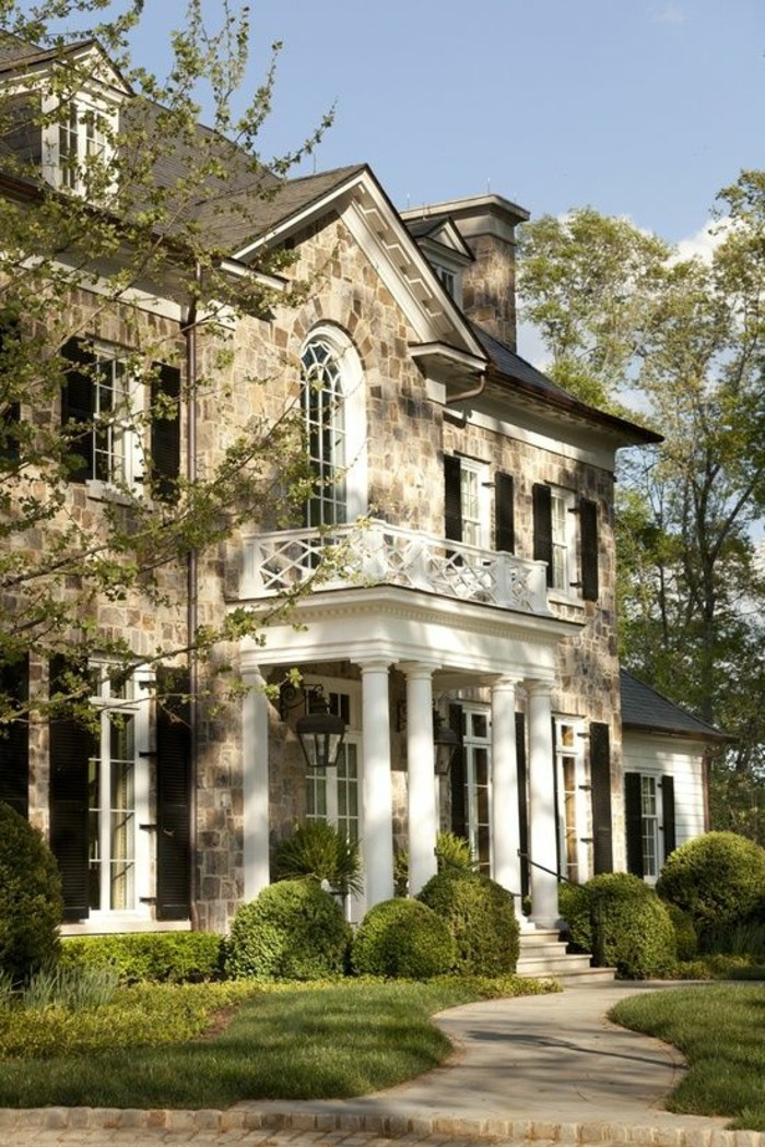 Beautiful Exterior Home Design Trends: La Maison Coloniale En 60 Photos Magnifiques!