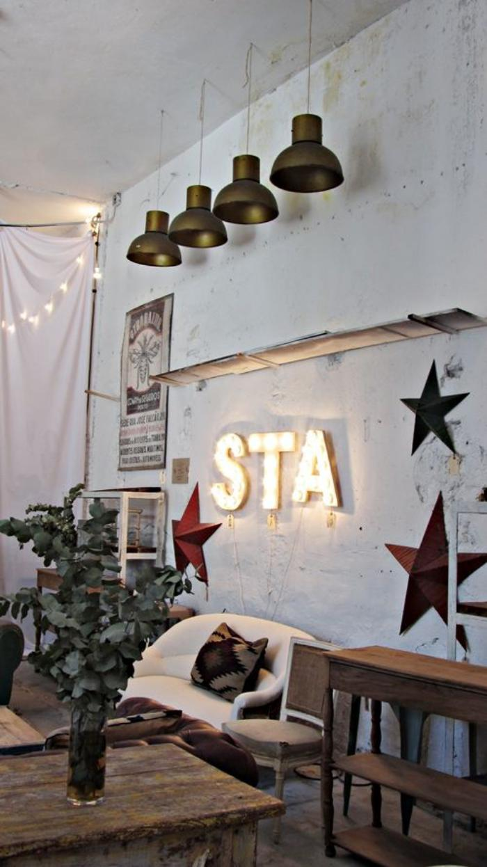 la lettre murale cr ation unique pour une d coration. Black Bedroom Furniture Sets. Home Design Ideas
