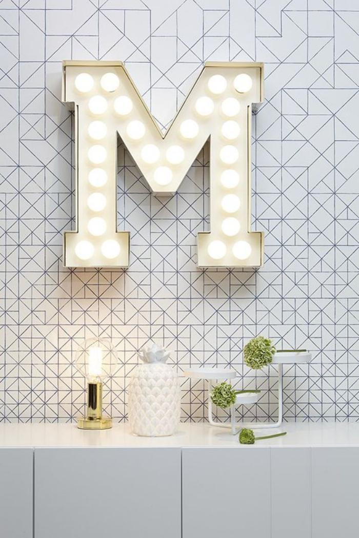 lettre-murale-lune-lettre-décorative-fantastique
