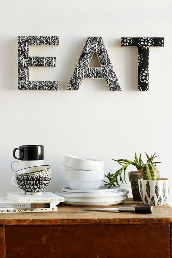But Lettre Decorative Cuisine
