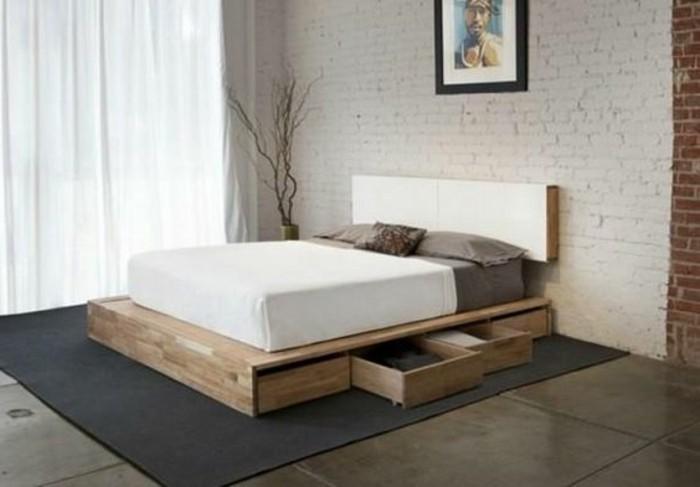 O trouver votre lit avec tiroir de rangement for Chambre a coucher adulte en solde
