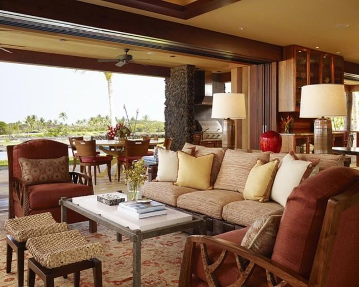 Design d 39 int rieur avec meubles exotiques 80 id e for Objet de decoration interieur maison