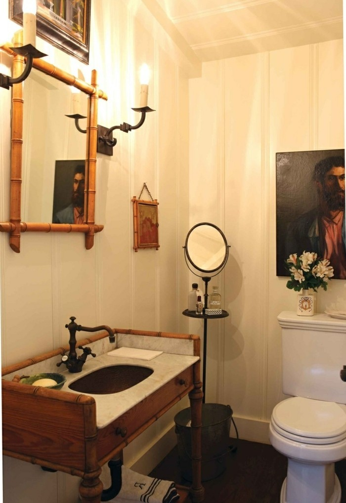 Design d 39 int rieur avec meubles exotiques 80 id e magnifiques - Decoration maison salle de bain ...