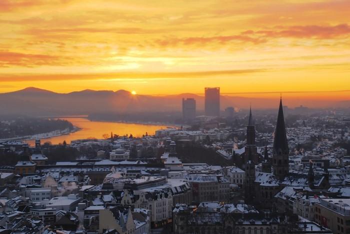 La beaut du soleil levant en 80 images magnifiques - Heures coucher du soleil ...