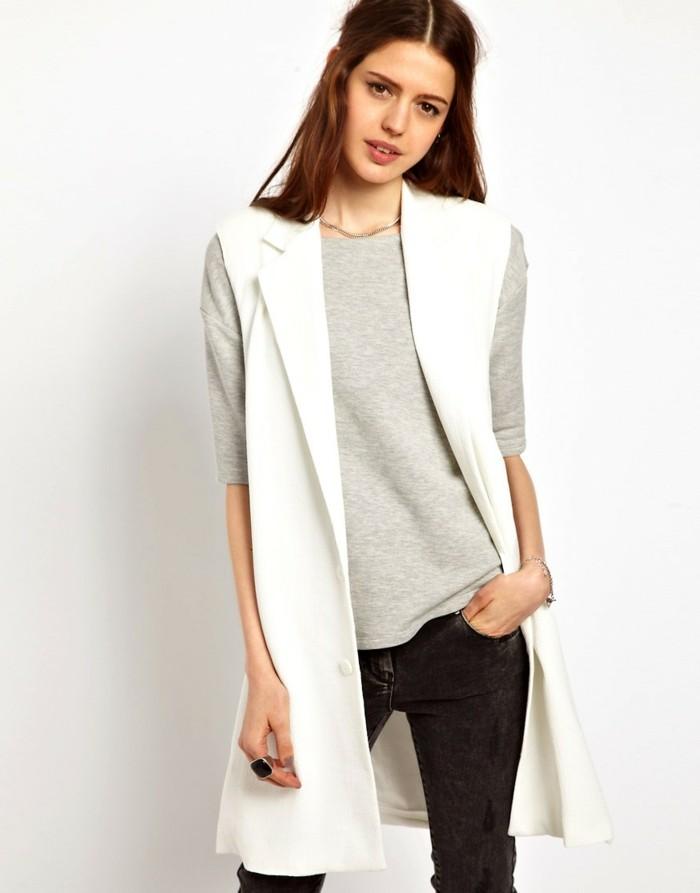 manteau-sans-manche-femme-tenue-de-jour-stylé-blanc