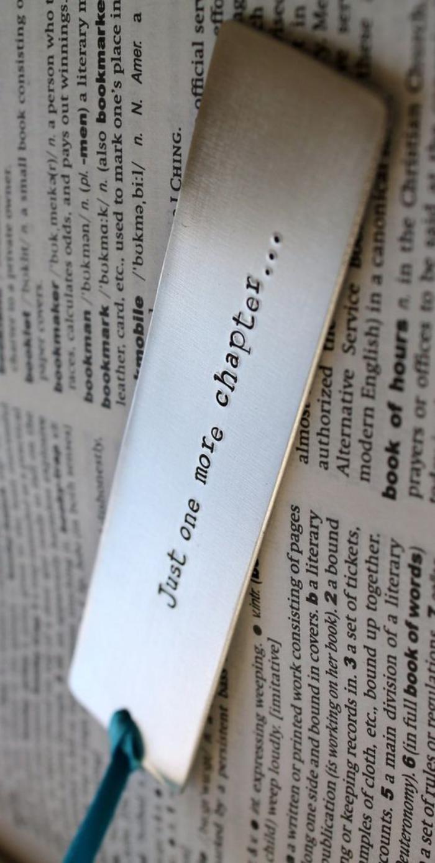 marque-page-original-signet-métallique-script