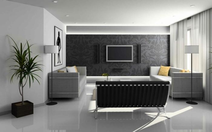 meuble-noir-et-blanc-chambre-noire-et-blanche