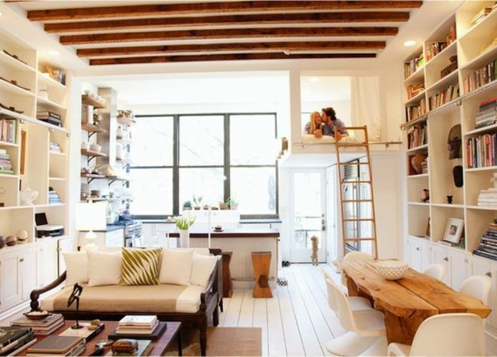meubles-beiges-amenagement-petit-espace-agrandissement-maison-sol-en-planchers-beiges