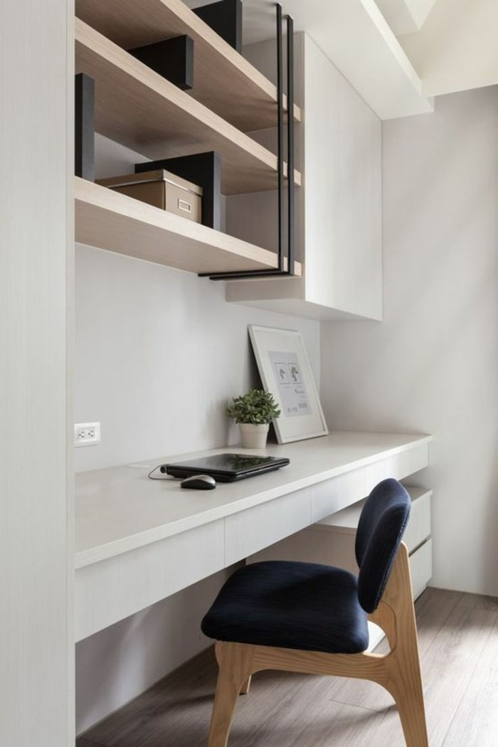 meubles-beiges-comment-agrandir-son-bureau-idees-en-photos