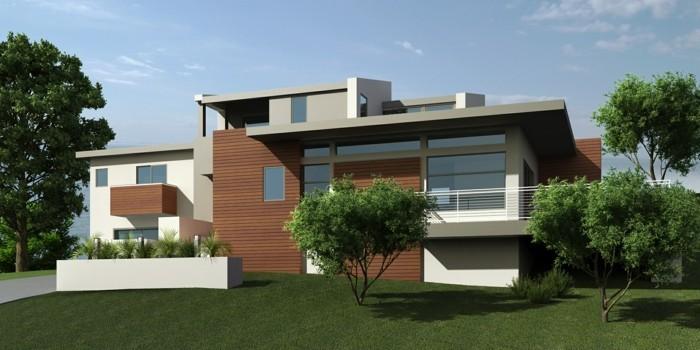 modele-maison-contemporaine-chalet-toit-plat-