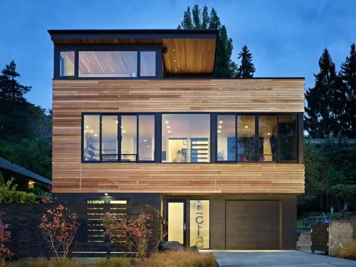 Vous tes int ress s par une maison toit plat 84 exemples pour votre inspir - Exemple de maison moderne ...
