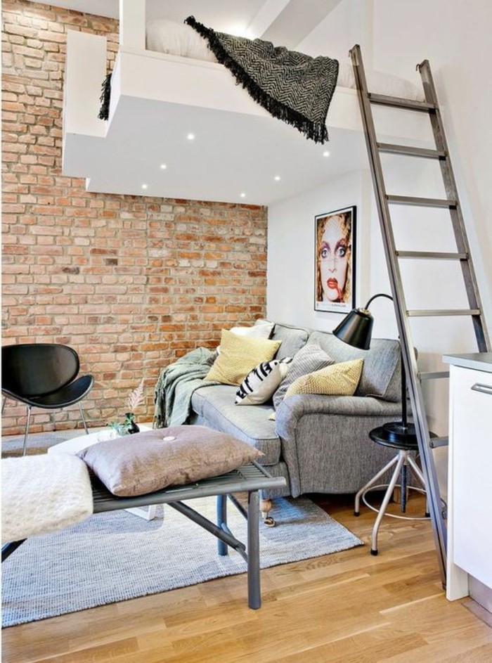 mur-en-briques-sol-en-parquet-clair-meubles-de-salon-mur-en-briques-tapis-bleu-agrandissement-maison