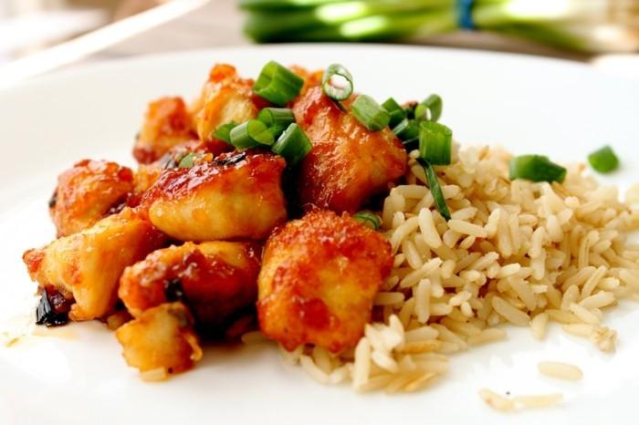 Nourriture Asiatique Recette : Délices culinaires la nourriture asiatique en photos