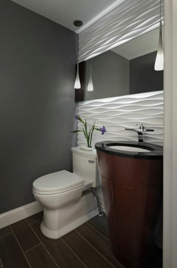 Les panneaux muraux o trouver votre mod le for Faience grise salle de bain