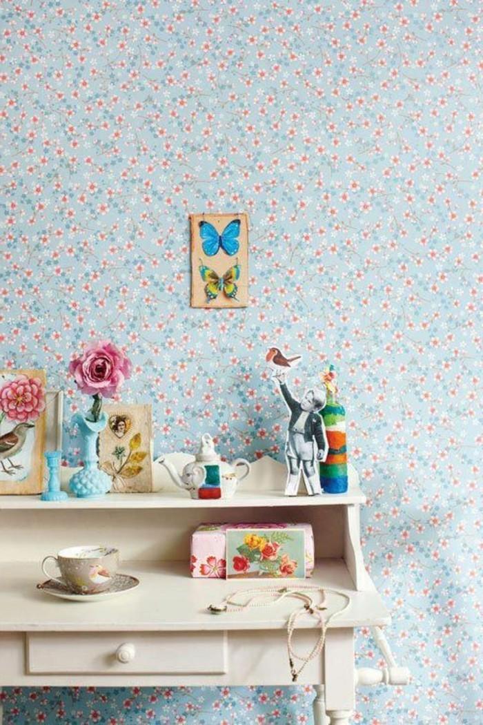 Comment choisir un habillage mural quelques astuces en photos - Papier peint chic design ...