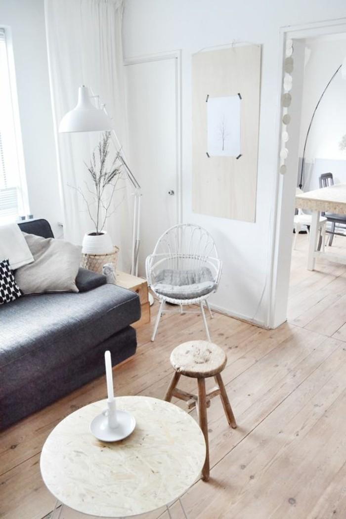 parquet-clair-petit-salon-canapé-gris-comment-agrandir-sa-maison-meubles-de-salon