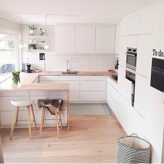 U Shaped Kitchens Ideas To Inspire You: Comment Agrandir Sa Maison? Quelques Astuces En Photos Et