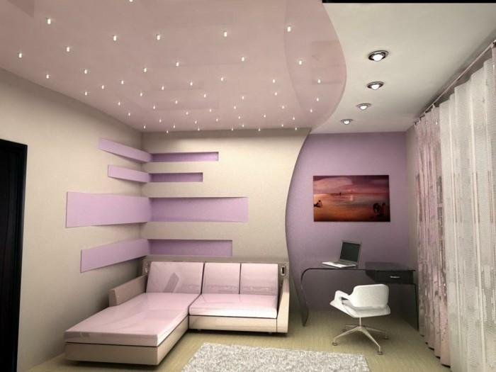 plafond-design-rose-et-blanc-et-petites-etoiles-resized
