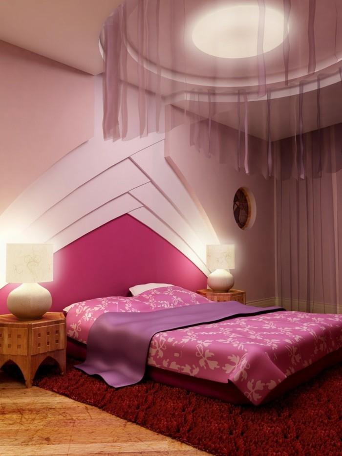 plafond-design-rose-et-violet-romantique-nid-d'-amour-resized