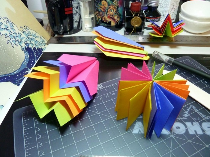 pliage-de-papier-avion-origami-pliage-avion-papier