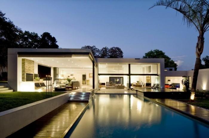 Prix maison contemporaine étanchéité toit plat