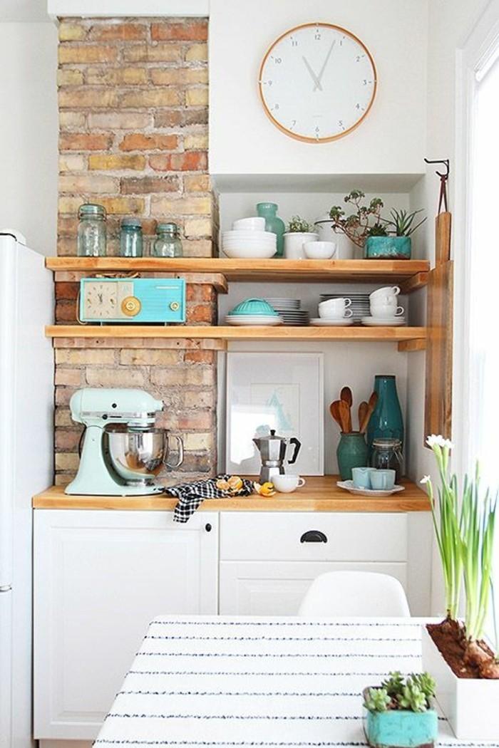 le rangement mural comment organiser bien la cuisine. Black Bedroom Furniture Sets. Home Design Ideas