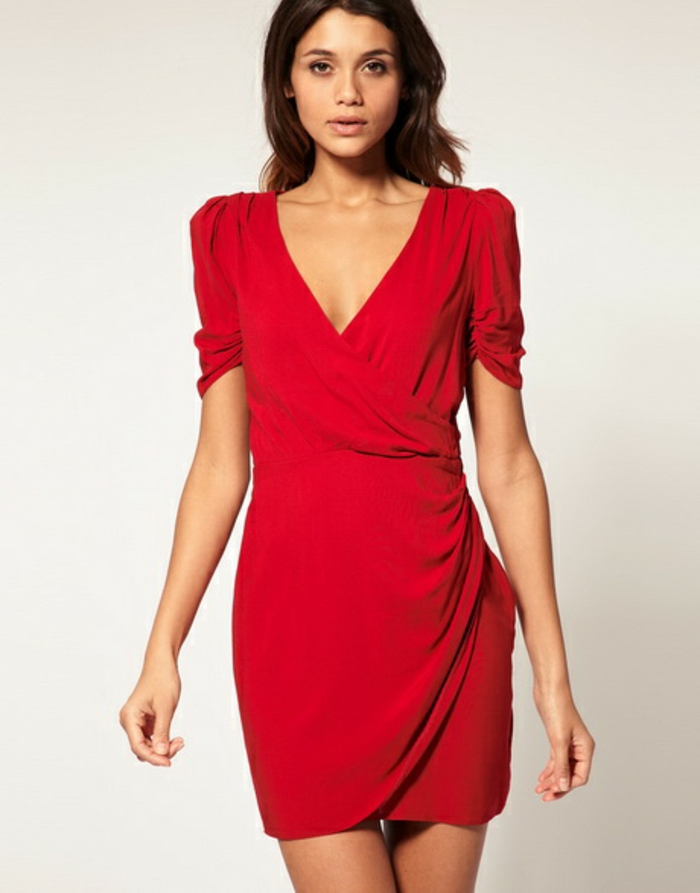robe-portefeuille-rouge-manches-effet-drape-moulante-resized