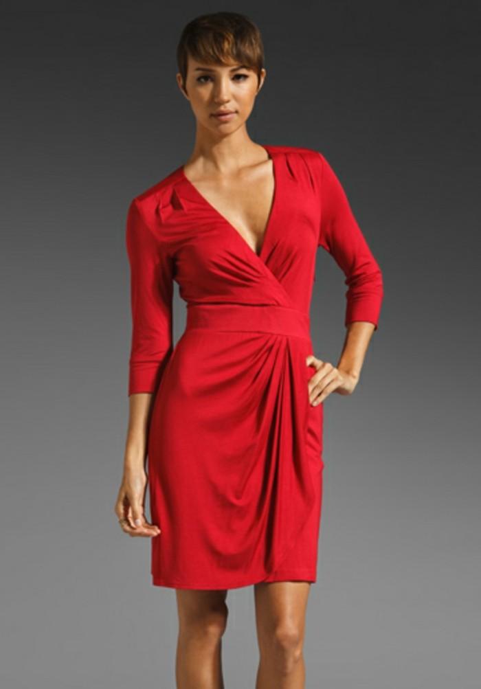 robe portefeuille rouge avoir absolument pour l 39 t