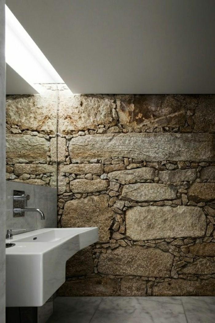 Emejing Salle De Bain Ardoise Et Galets Images - Amazing House ...