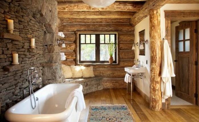 Quelles pierres de parement choisir pour votre pi ce - Baignoire leroy merlin salle bain ...