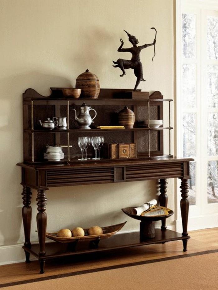 Design d 39 int rieur avec meubles exotiques 80 id e - Objet decoratif original ...