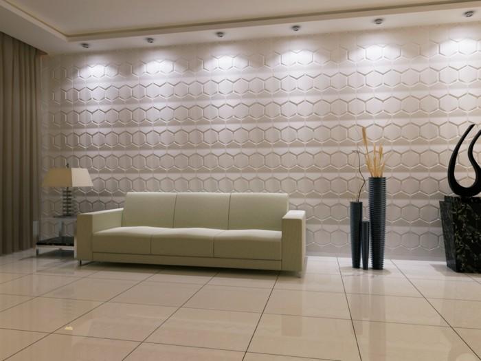 Salon chic et moderne meilleures images d 39 inspiration for Decoration murale moderne