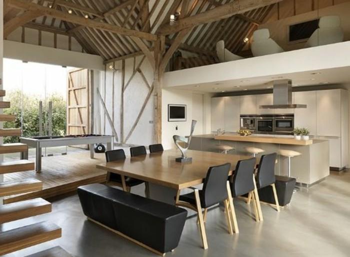 salon-sous-combles-sol-en-beton-ciré-gris-meubles-de-salle-de-sejour-sous-combles