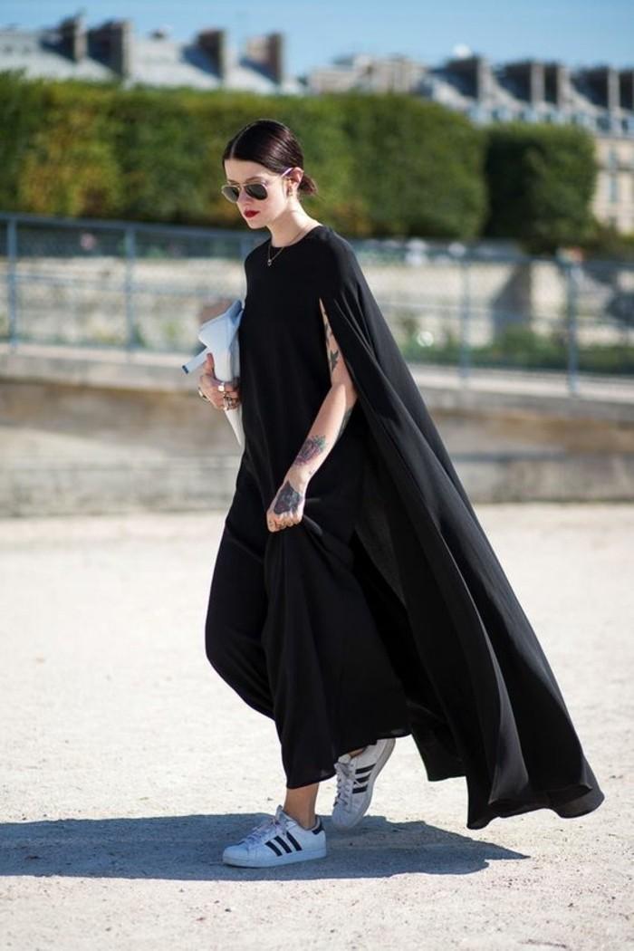 sneakers-blancs-noirs-tendances-de-la-mode-basket-femme-pas-cher-lunettes-de-soleil
