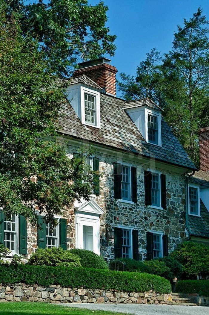 Maison style colonial am ricain - Maison style colonial bois ...