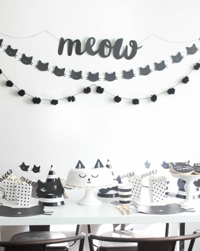 superbe-déco-anniversaire-faire-les-décorations-soi-meme-chat