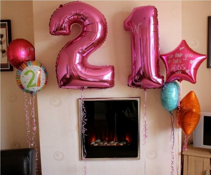 cool idées pour la décoration d'anniversaire originale - archzine.fr