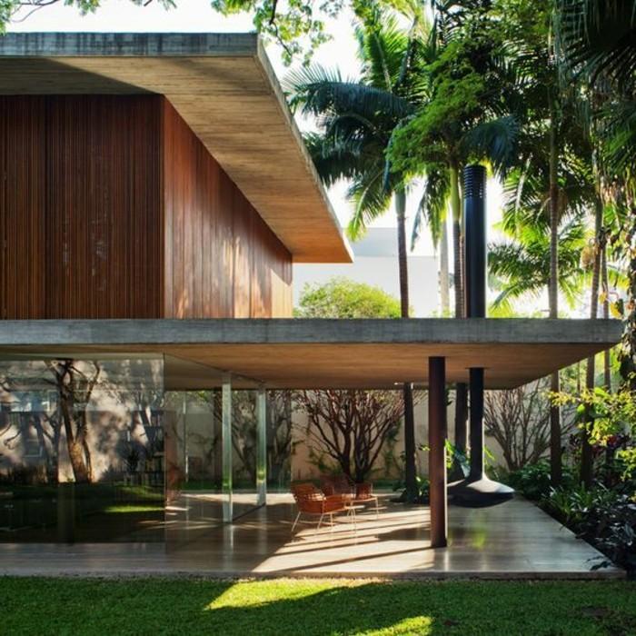surelevation-maison-prix-agrandissement-maison-en-bois-pelouse-verte-surelevation-maison
