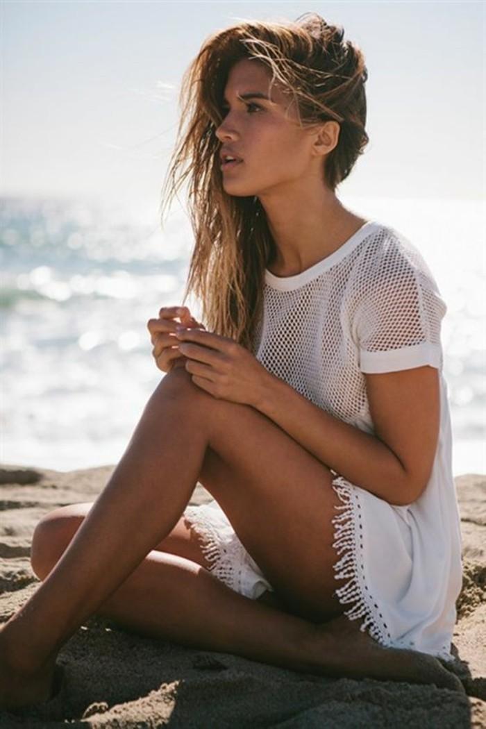 Choisir la meilleure robe de plage - Sortie de plage femme ...