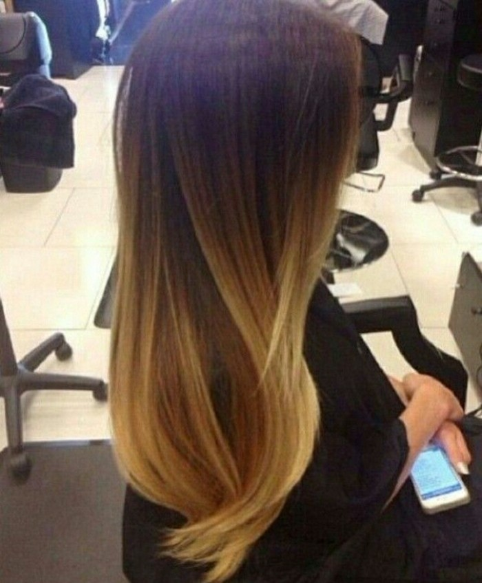 Balayage californien cool idée coloration cheveux