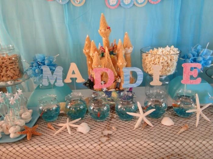theme-idée-la-petite-sirène-disney-anniversaire-gâteau