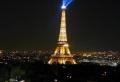 Photos magnifiques de la tour eiffel illuminée