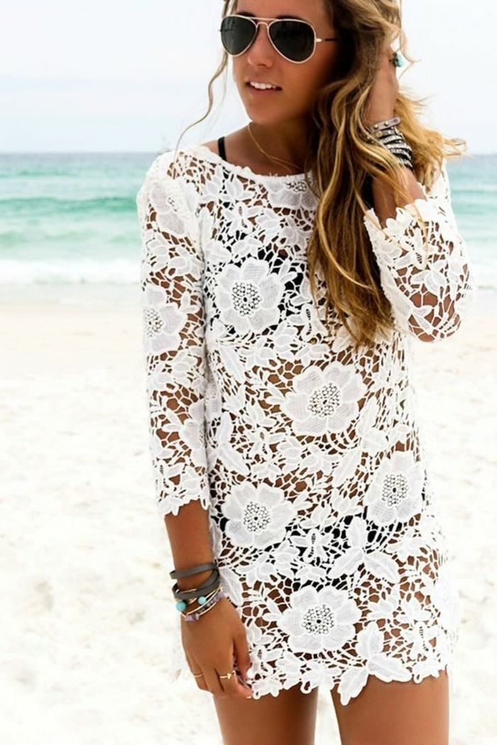 tunique-de-plage-grande-taille-chouette-idée-tenue-dentelle