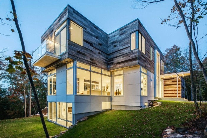 80 maisons contemporaines et futuristes qui vont vous inspirer ...