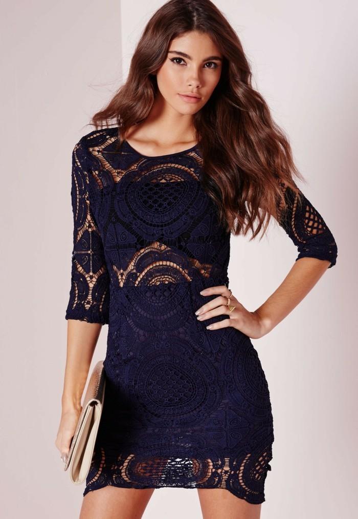 élégante-robe-noir-a-dentelle-cool-trop-cool