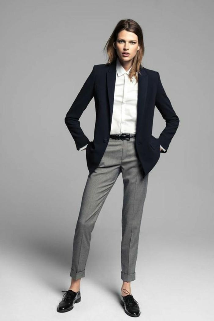 0-bien-s-habiller-femme-femme-pantalon-pincé-élégant-de-couleur-gris-chemise-blanche-veste-noir