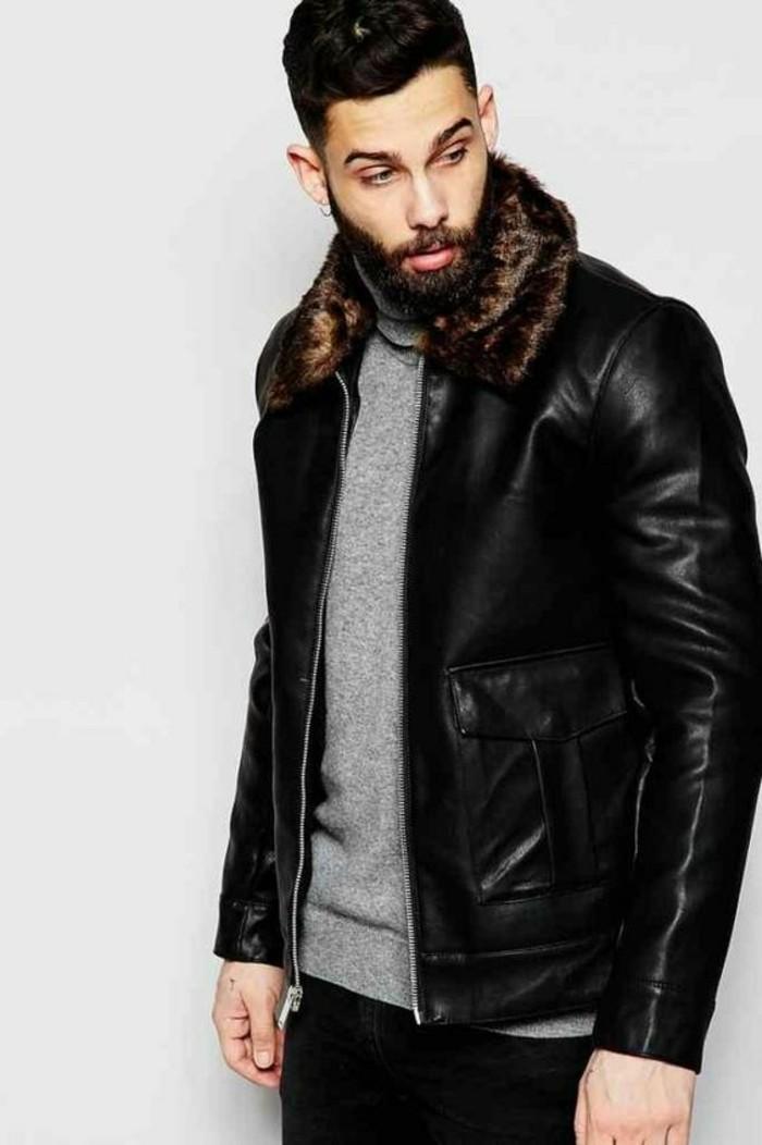 0-blouson-aviateur-homme-en-cuir-homme-pull-gris-tendances-de-la-mode-homme-2016