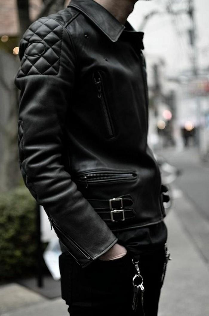 Veste en cuir tendance 2016