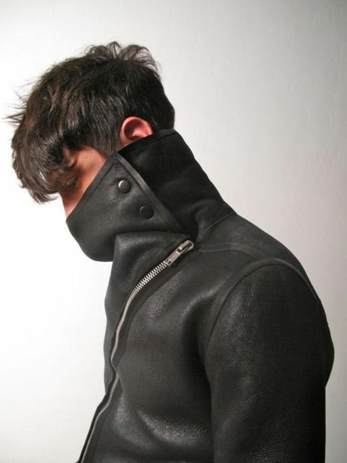 Trouvez votre mod le de veste en cuir homme - Chutes de cuir pas cher ...